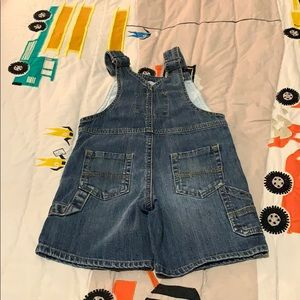 OshKosh B'gosh Bottoms - Oshkosh Denim Short Overalls